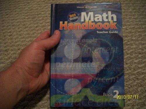 9780078915079: Quick Review Math Handbook Teacher Guide Book 2