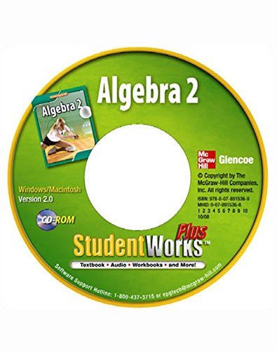 9780078915369: Algebra 2, StudentWorks Plus CD-ROM
