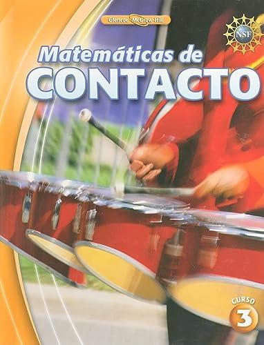 9780078916083: Matematicas de Contacto, Curso 3