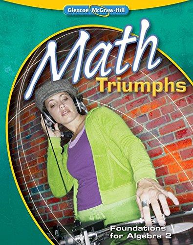 9780078916342: Math Triumphs: Foundations for Algebra 2, Level 3