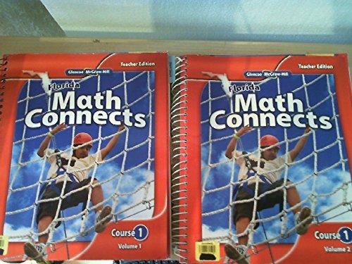 9780078916410: Florida Math Connects Course 1 Volume 2 TE