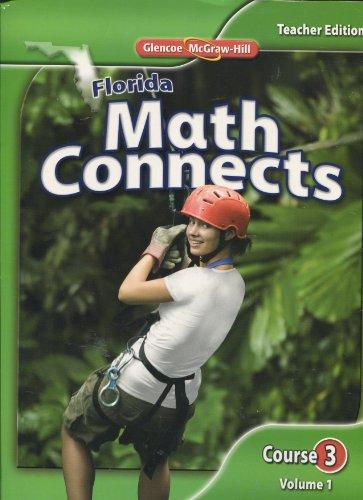 9780078916489: Florida Math Connects, Vol. 1, Course 3, Teacher Edition