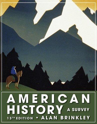 9780078916977: American History: A Survey, 13th Edition (NASTA Hardcover Reinforced High School Binding)