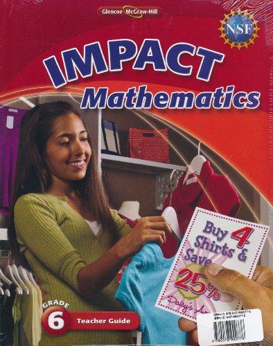 Impact Mathematics - Grade 6 [Tchr Gde with Resource Masters]: Various