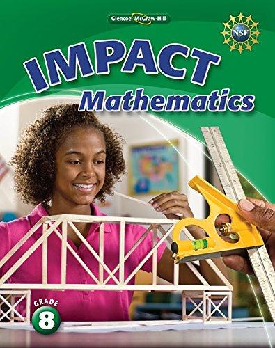9780078920820: IMPACT Mathematics, Grade 8 Student Edition