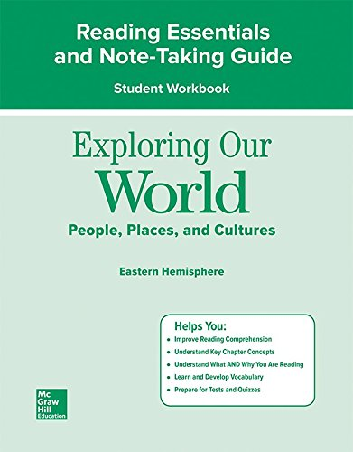 9780078921681: Exploring Our World: Eastern Hemisphere, Reading Essentials and Note-Taking Guide Workbook