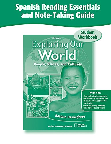 9780078921735: Exploring Our World: Eastern Hemisphere, Spanish Reading Essentials and Note-Taking Guide Workbook