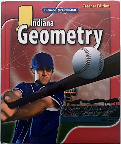 Glencoe Indiana Geometry Teacher's Edition. (Hardcover)