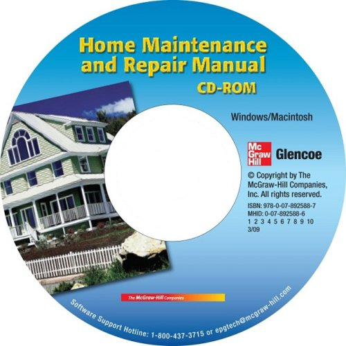 9780078925887: Carpentry & Building Construction, Home Maintenance and Repair Manual CD-ROM (CARPENTRY & BLDG CONSTRUCTION)
