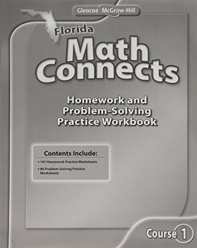 9780078927744: Florida Math Connects Course 1
