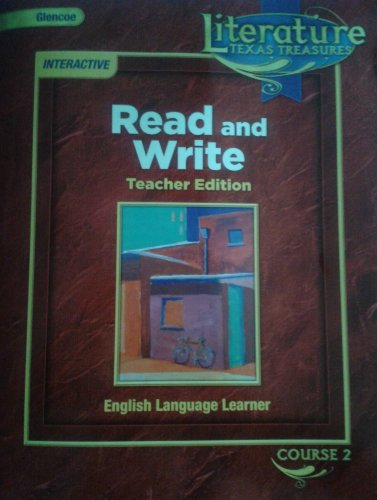 9780078930560: Texas Treasures Literature Course 2: Read and Write, English Language Learner