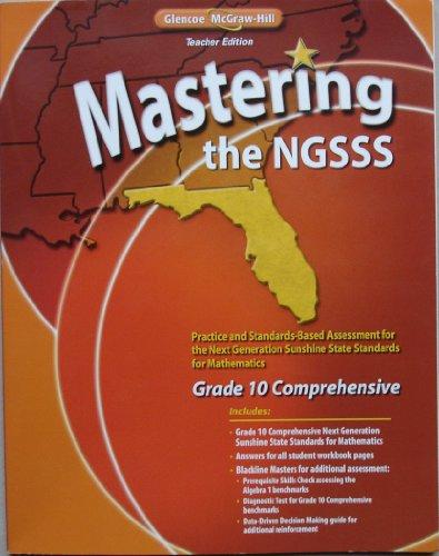 9780078933097: Mastering the NGSSS (Teacher Edition), Grade 10 + Florida Geometry (Teacher Edition)