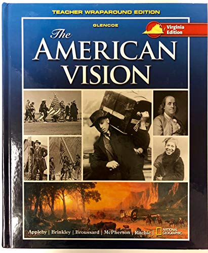 9780078933479: The American Vision, Teacher Wraparound Edition, Virginia Edition