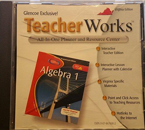 Teacher Works Plus for Indiana Algebra 1: Glencoe