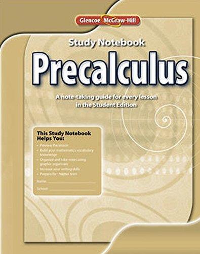 9780078938146: Precalculus, Study Notebook (ADVANCED MATH CONCEPTS)