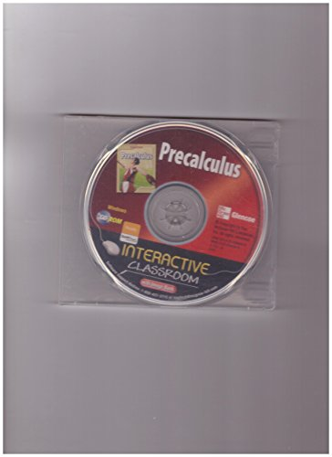 9780078940699: Interactive Classroom CD-ROM with Image Bank (Glencoe Precalculus)