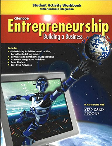 Entrepreneurshhip Building a Business (Student Activity Workbook): Staff