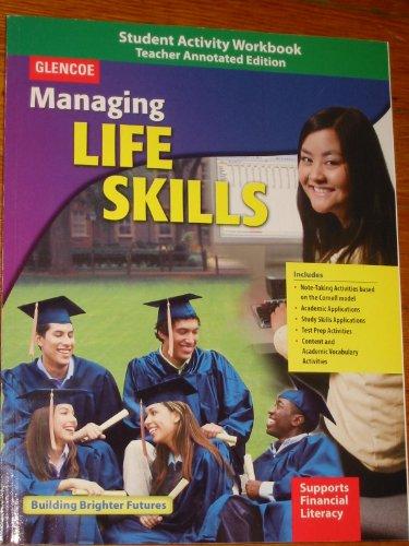 9780078943300: Managing Life Skills, Student Activity Workbook, Teacher Annotated Edition