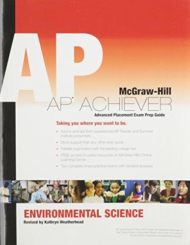 9780078950469: Environmental Science, AP Achiever Test Prep
