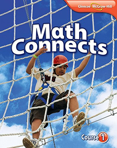 Math Connects, Course 1 Study Notebook: McGraw-Hill-Glencoe Staff