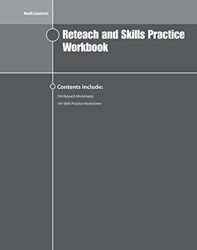 9780078951336: Math Connects Reteach and Skills Practice Workbook, Course 1 (MATH APPLIC & CONN CRSE)