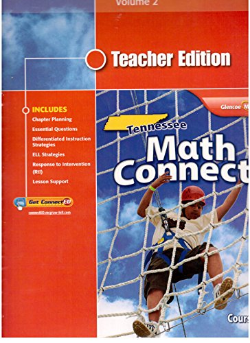 9780078952456: Tennessee Math Connects Course 1 Volume 2 Teacher Edition