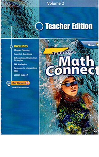 9780078952470: Teacher Edition Tennessee Math Connects Course 2 Volume 2