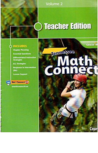 9780078952494: Tennessee Math Connects, Course 3: Tennessee Teacher Edition, Volume 2