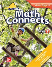 9780078952500: Math Connects, Course 1, Virginia Edition2