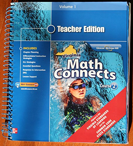 9780078952555: Math Connects, Course 2, Volume 1, Teacher Edition