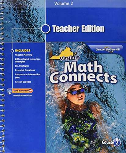 9780078952562: Math Connects, Course 2, Volume 2, Teacher Edition