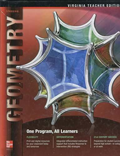 9780078952760: Glencoe Geometry, Virginia Teacher Edition