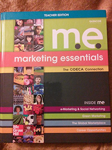 9780078953132: Marketing Essentials (M.E.) The DECA Connection - Teacher Edition