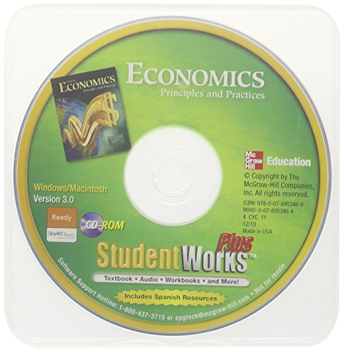 9780078953460: Economics: Principles and Practices