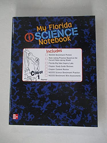 9780078954283: My Florida i Science Notebook Course 1