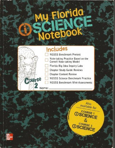 9780078954306: My Florida iScience Notebook course 2