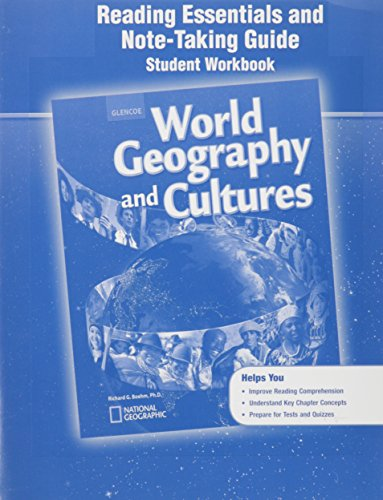 9780078954993: World Geography and Cultures: Reading Essentials and Note-Taking Guide