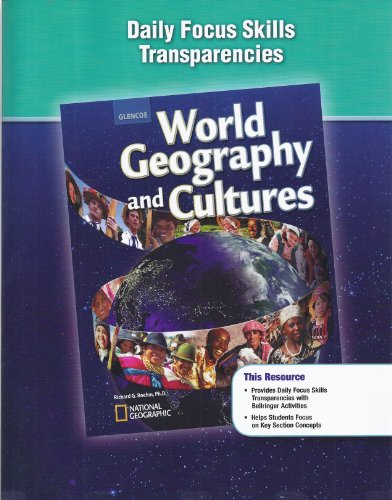 9780078955051: Glencoe World Geography and Cultures Daily Focus Skills Transparencies