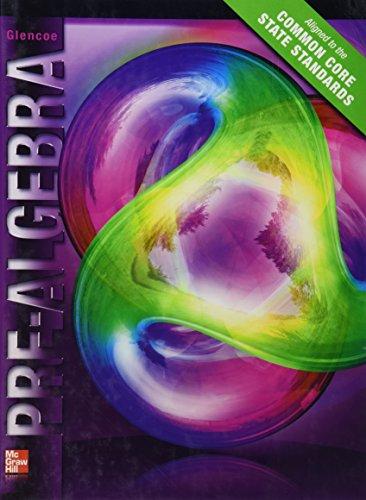 Glencoe Pre-Algebra, Student Edition: Education, McGraw-Hill
