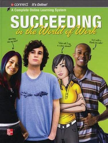 9780078959448: Succeeding in the World of Work