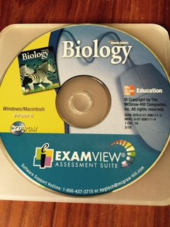 9780078961113: Glencoe Science Biology CD-ROM ExamView Assessment Suite