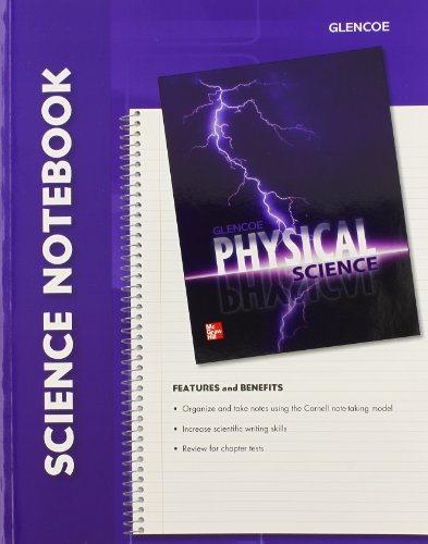 9780078962998: Glencoe Physical Science, Science Notebook, Student Edition
