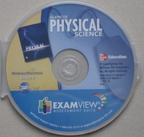 9780078963087: Physical Science - ExamView Assessment Suite