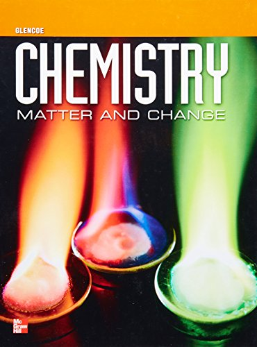9780078964053: Glencoe Chemistry: Matter and Change