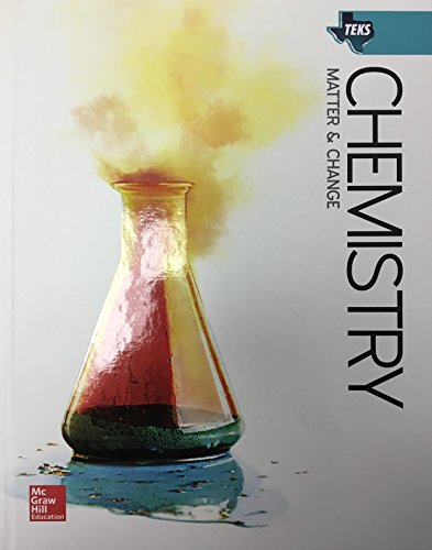9780078964176: TEKS Chemistry Matter&Change - Student Edition