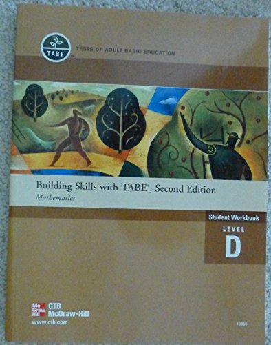 9780079074584: Building Skills with Tabe, Second Edition Mathematics (Student Workbook, Level D)