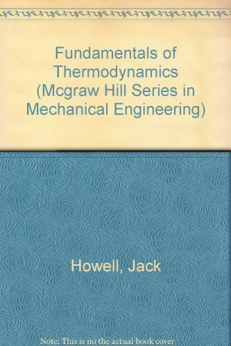 9780079093691: Fundamentals of Engineering Thermodynamics/Book and Disk (Mcgraw Hill Series in Mechanical Engineering)