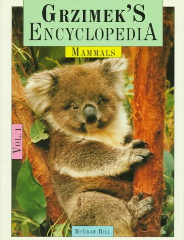 9780079095084: Grzimek's Encyclopedia of Mammals