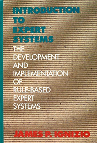 9780079097859: Introduction to Expert Systems: The Developments and Implementation of Rule-based Expert Systems