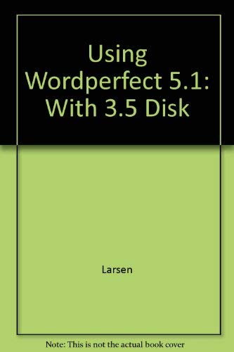 9780079110237: Using Wordperfect 5.1 on the PC